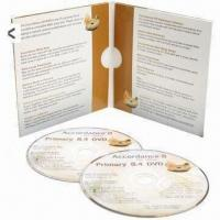 Quality CD/DVD Cases, Made of Cardboard, PP and Metal for sale