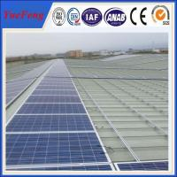 Quality Flat Roof PV Mounting System, solar panel mounting rack for Japan for sale
