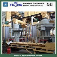 China pellet press/pellet machine/pellet mill China wood pellet production line offer abroad aft on sale