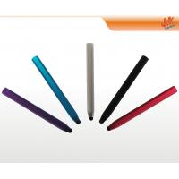 Quality Aluminium orange, black retro capacitive screen stylus pen for cell phone, iPad, PDA for sale
