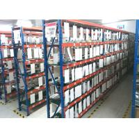 Quality Adjusted 4 Levels Steel Medium Duty Racking Easy Assemble / Disassemble 2000mm Length for sale