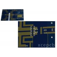 Buy cheap Rogers Arlon Taconic Radio Frequency Microwave Rfmw Pcb Double Layer Immersion Silver Surface from wholesalers