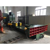Quality Hydraulic Drive Disassembling Industrial Baler With Tongs Route Changeable for sale