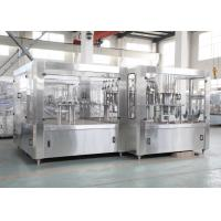 China 15000BPH 9KW Milk Juice Filling Machine And Sealing Machine Equipment for PET Glass Bottling on sale