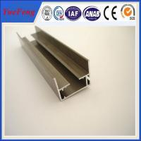 Quality furniture aluminium powder coated profile,colors powder coated alloy aluminium extrusion for sale
