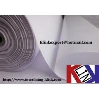 Coated fusing buckram interfacing fabric Accessories for clothing