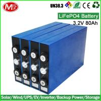 China Family Use Prismatic Battery Cell LiFePO4 Rechargeable Battery Portable Power Station on sale