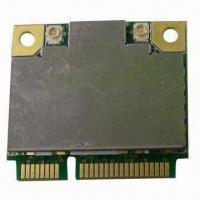China 802.11 b/g/n Wireless LAN Half Mini Card, Supports for Short Guard Interval on sale