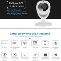 Quality EC8 HD 720P Mini Wifi IP Camera Wireless P2P Baby Monitor Network Remote CCTV Surveillance DVR Camera Playback on App for sale