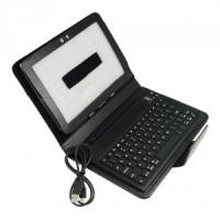 Quality Wireless Bluetooth Keyboard Leather Samsung Galaxy Tab P1000 Protective Case for sale