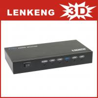 LKV314 HDMI Splitter 1 input 4 output support 3D with remote control for sale