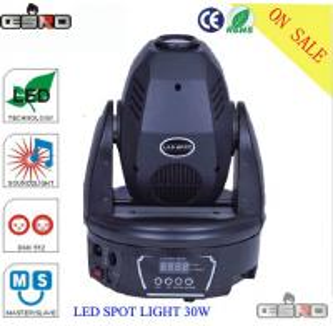 Quality led  30w moving head dj light for sale