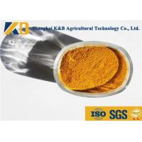 Quality Golden Brown Granular High Protein Powder For Animal Eating Additive for sale