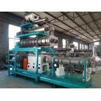 Buy 2500kgs/h Yemen twin screw extruder floating fish feed pellet machine price at wholesale prices