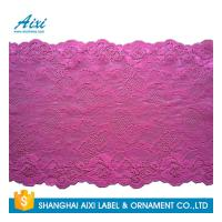 Quality Nylon Stretch Lace Embroidery Lingerie Lace Fabric For Underwear Dress Garments for sale