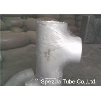Quality ASTM A403 Stainless Steel Pipe Fittings Schedule 5S 10S 40S Reducing Tee NPS 1/2'' - 24'' for sale