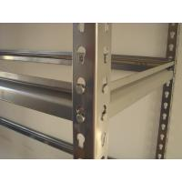 China Rivet Boltless Warehouse Shelving with Cold Rolled Strip Piercing on sale