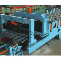 Quality Glazed Roof Sheet Forming Machine Automatic Hydraulic Glazed Tile Roll Forming Machine / Roofing Tile Process Line for sale
