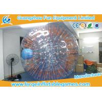 Quality Fire - Proof Inflatable Human Hamster Ball Plato 1.0mm PVC For Inflatable Toys for sale