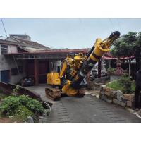 Quality 1.1m Cylinder Stroke Hydraulic Piling Rig For 16m Max  Drilling Depth 1.2m Diameter for sale