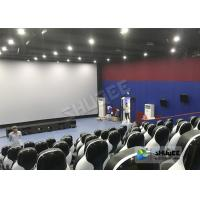 Quality Beautiful Decoration 5D Theater Chair With Many Leather And Fiberglass Seats For Choice for sale