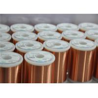 Quality Different Colors Enamelled Copper Winding Wire Super Fine 0.018 - 0.8mm For Motors for sale