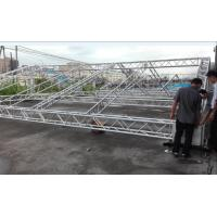 Buy Ladder Bolt  Concert Lighting Truss , LB300 X 300 Durable Aluminum Box Truss at wholesale prices