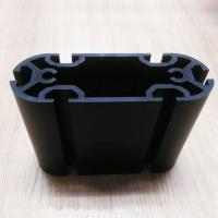Quality Black Hard Anodize Extruded Aluminum Pole For Electronic Device for sale