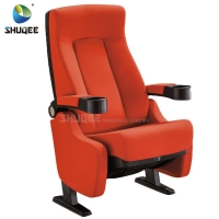 Quality Hot Selling Home Theater Seating Modern Design Cinema Chair With Cup Holder for sale