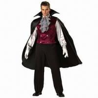 Quality Men's Classic Vampire Costumes, Available in Various Sizes for sale