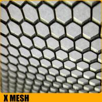 Quality Customize BA finish fmx00481 stainless steel perforated sheet with 1000mm width for sale