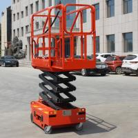 Quality Auto Brake System Self Leveling Scissor Lift Safety Flexible Operation for sale