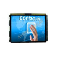 China Industrial Capacitive touch 15 inch lcd monitor High Definition 4mm Anti vandal on sale