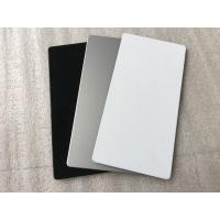 Quality White Interior Wall Cladding Sheets , Anti - Rust Waterproof Cladding For Buildings  for sale