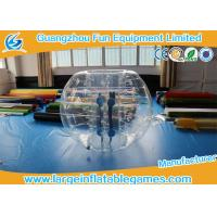 Quality 1.8m TPU Inflatable Bumper Ball For Soccer Club , Inflatable Soccer Balls for sale