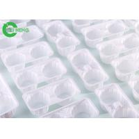 Quality Reusable Strong Plastic Cup Carrier Trays Crack Resistance For 2 Cup Hot Drinks for sale