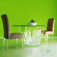 Quality acrylic bar stools and table for sale