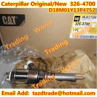 Buy Caterpaillar Original and New Injector 326-4700 for CAT 320D Excavator D18M01Y13P4752 at wholesale prices