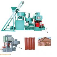 China concrete  tile making machine GLCT-128 on sale