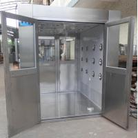 Quality IOS 5 Stainless Steel Clean Room Air Shower Tunnel Equipment With Vertical Blowing for sale