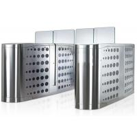 Quality Pedestrian Waist Height Access Control Turnstiles Gate With Glass Panel for sale