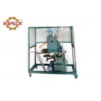 China Semi Auto Strapping Machine Flexible Operation Black Color 145kg Weight on sale