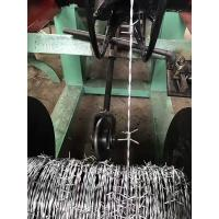 Buy cheap Best Price double twist Barbed Wire Making Machine Manufacturer from wholesalers