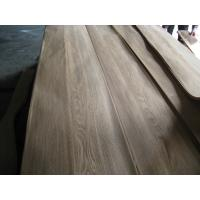 Quality Sliced Natural Chinese Ash Wood Veneer Sheet crown cut for sale