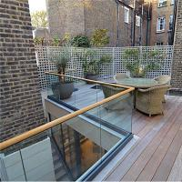 Buy Aluminum U Channel external balustrades and handrails for wood decking at wholesale prices