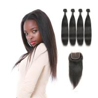 Genuine Raw Indian Remy Human Hair Extension Weave No Synthetic Hair