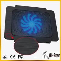 Quality Hot sell and good price laptop cooling pad with single fan for sale