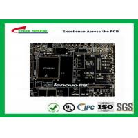 Quality Black Solder Mask Multi Layer PCB FR4 TG150 for Lenovo Circuit Board for sale