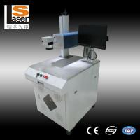 Quality 20w 30W 50W Fiber Laser Marking Machines High Speed With Galvanometer for sale