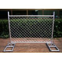 Quality Cross Brace Chain Link Builders Security Fencing Hot Galvanized Surface for sale